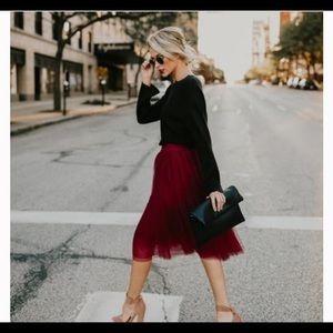 NWT Vici Bradshaw Tulle Skirt, Medium
